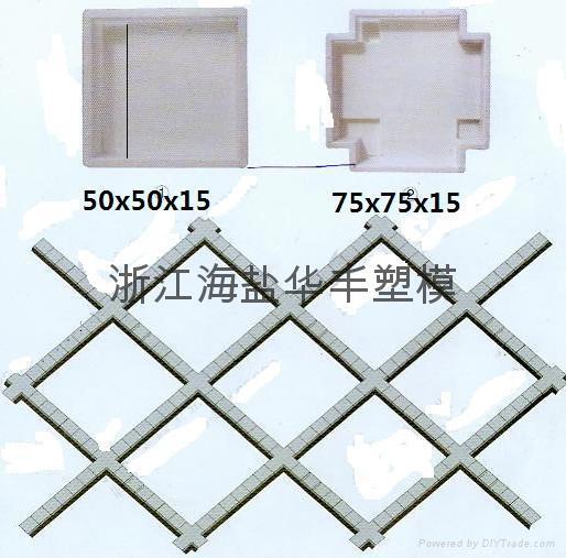 混凝土预制块盖板塑料模具 3