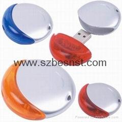 colorful round shape usb 2.0 flash