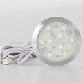 9Led Downlight 1.8W SMD 5050 12V Aluminum
