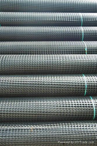 特价销售河北地区公路施工用双向塑料土工格栅 2