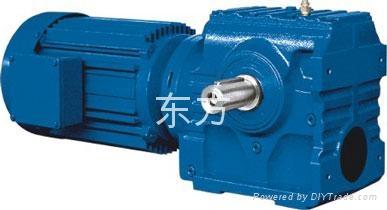 供应S系列斜齿蜗轮蜗杆减速机 1