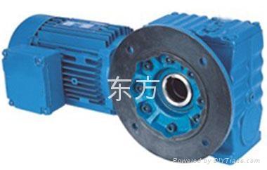 供应S系列斜齿蜗轮蜗杆减速机 2