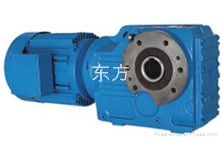 供应K系列斜齿锥齿轮减速机 3