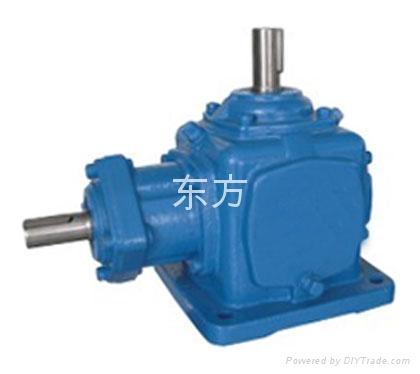 河南郑州供应T系列螺旋锥齿轮减速换向器 1