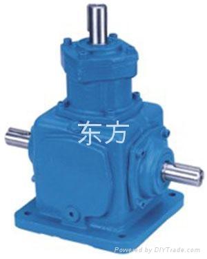 河南郑州供应T系列螺旋锥齿轮减速换向器 2