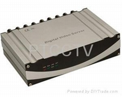 4 channel H.264 Network Video Server(IP Server)