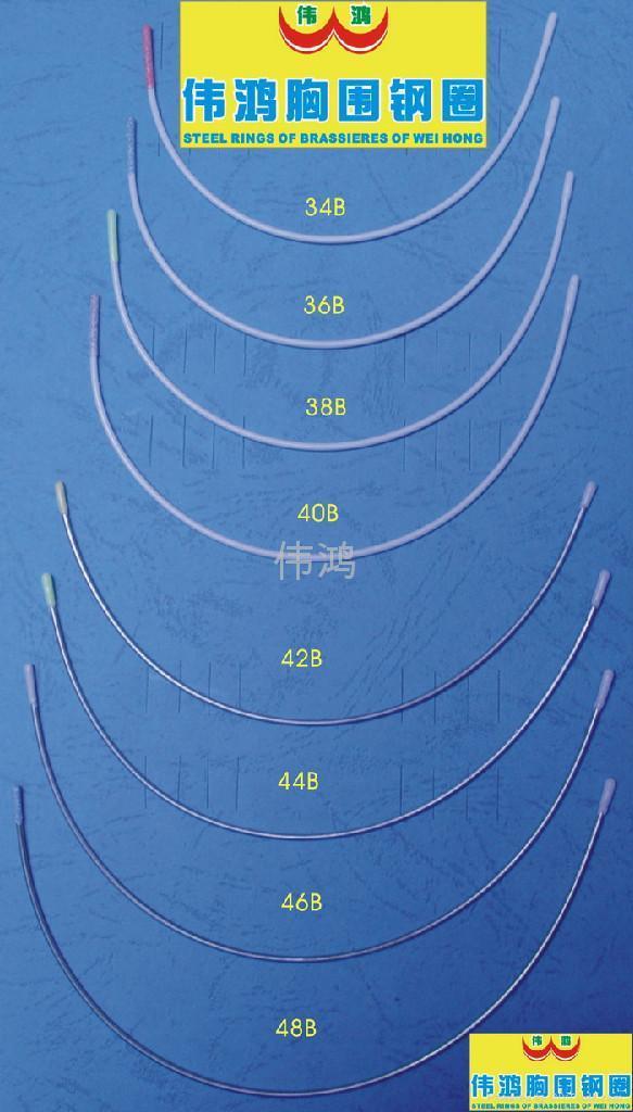 ¢1.6元線(尼龍包膠胸圍鋼圈) 2