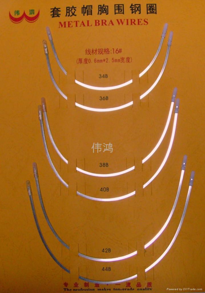 套塑膠頭(胸圍鋼圈) 2