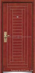 Steel Wooden Armored Doors SWAD-3002