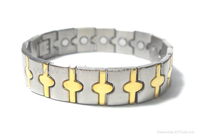 不锈钢磁手链/钛磁手链
