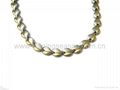 Magnetic Stainless Steel/titanium Necklace &Bracelet