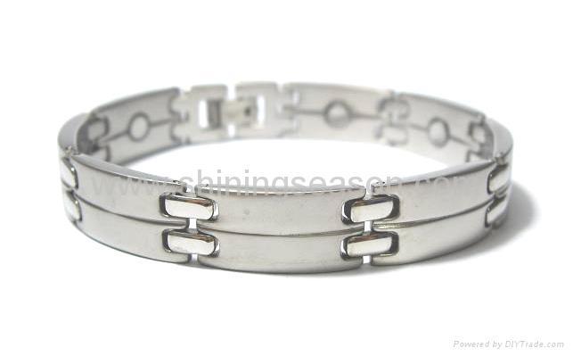 不锈钢健康磁性项链/磁性保健手链