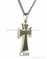 Stainless Steel Cross Pendants