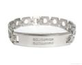Magnetic S.steel bracelets with Zirconia 5