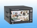 4ch H.264 Network DVR support VGA,remote