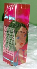 化妆品塑料透明包装盒