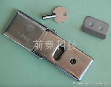 不鏽鋼三角鎖芯交接箱鎖搭扣鎖 1