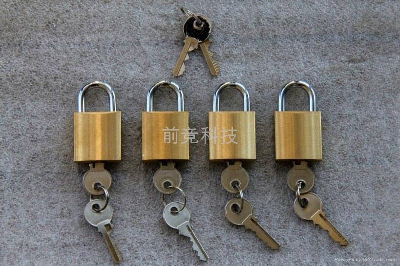 大容量不互開二級管理銅挂鎖 masterkey系統 2