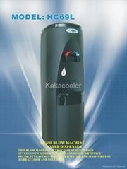 Compressor water dispenser
