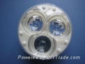 供應三合一透鏡|三合一聚光鏡|三孔聚光杯|三孔LED透鏡