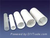 供應日光燈專用膠管|條紋管|日光燈塑料管|塑膠PC管|透明管