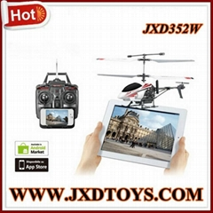 JXD352W 2013 Newest Real-time Video Transmission Wifi Helicopter