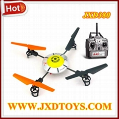 2013 Newest JXD380 Rolling Stunt 4CH 2.4G RC UFO