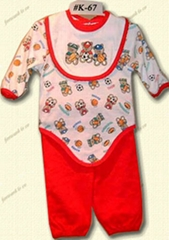 Babies' bodysuit set