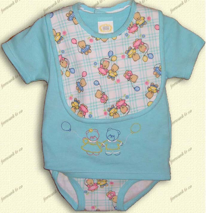 Babies' 3-pc set  1