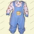 Babies' overall set