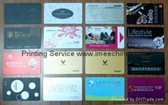 PVC magnetic card/smart card/paper scratch-off phone card