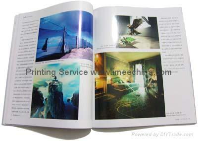 Hard back book/spiral notebook/folder printing/printing&binding 3