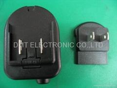 可换插头电源适配器
