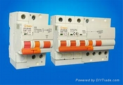 4P RCBO up to 63A JVL29-63 circuit breaker