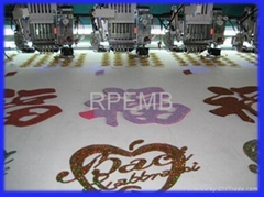 RP Independent cording embroidery machine