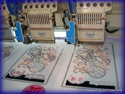 High Speed embroidery machine 2