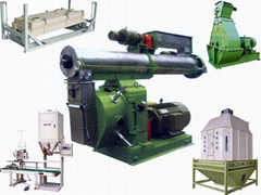 pellet mill, wood pellet mill, pelletizing machine, flat die pellet press, hamme