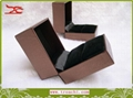 Jewelry Box jewelry pack jewelry packaging Ring box brown leathere