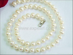 Finished Pearl Necklace