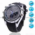 W500 leather wrist 1080P IR Night Vision Watch Camera 4GB-8GB