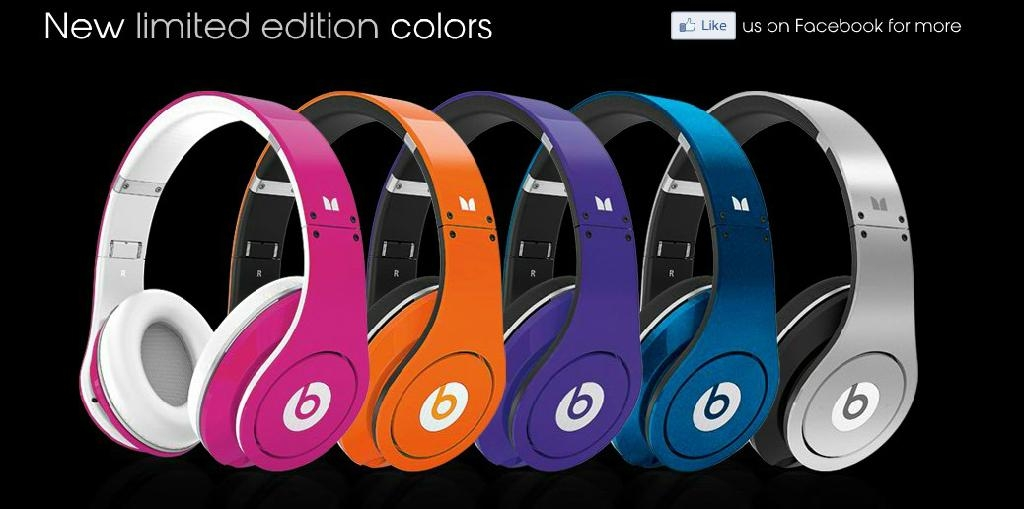 Top quality New limited Edition multi colors beats Studio Monster by Dre. 2