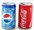 Newest CoCa Cola USB Speaker Sound Box With FM Radio Micro SD TF Card For Mp3/Mp