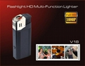 Flashlight,HD multi-function lighter realy lighter 1080P camera