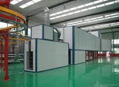 鋁壓鑄件噴塗設備