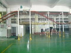 重慶河南三輪車噴塗線