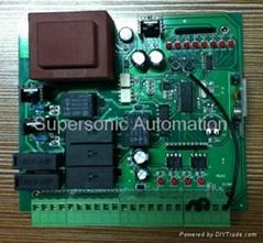 AC swing gate opener control board