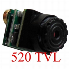 520TVL SPY Camera 9.5X9.5X12mm 0.008lux