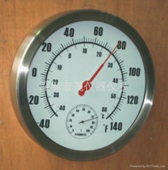 12 Inch Thermometer & Hygrometer