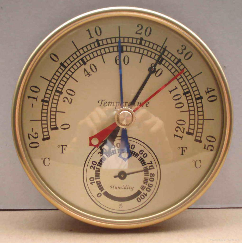 Min-Max Thermometer and Hygrometer 1