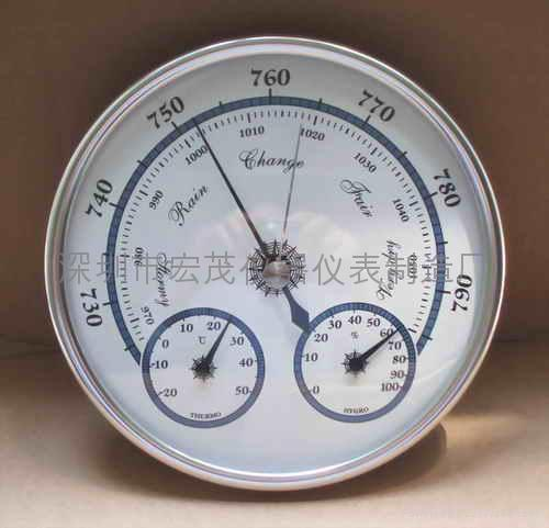 3in1 weather station (barometer/ thermometer/hygrometer) 3